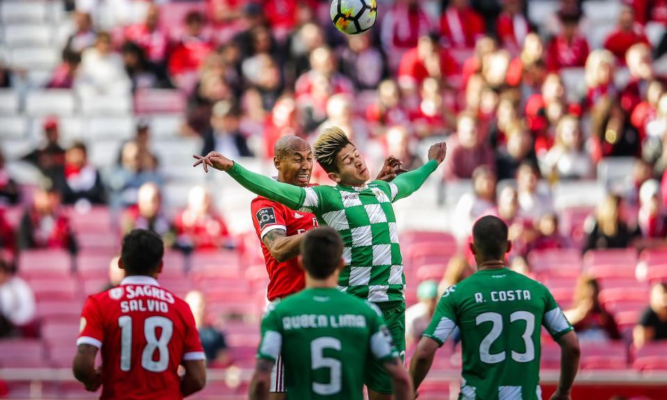 Benfica-Moreirense, 1-0 (resultado final)