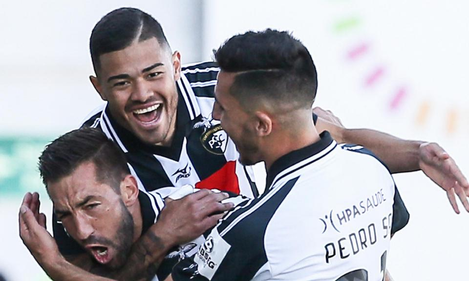 Portimonense-Paços Ferreira, 3-1 (destaques)
