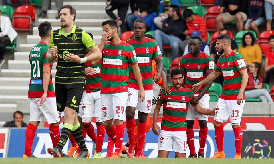 Marítimo-Sporting, 2-1 (destaques)