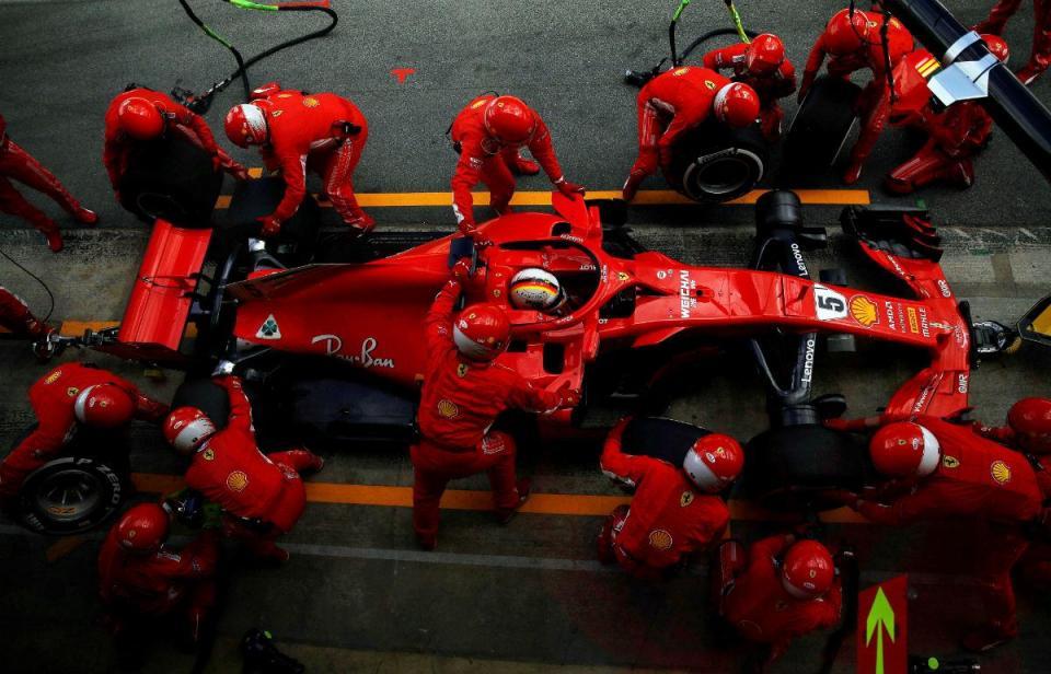"""Vettel afirma que segunda paragem na box """"foi a coisa certa a fazer"""""""