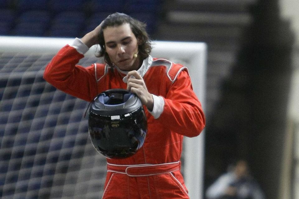 Rafael Nadal vai dar a partida das 24 Horas de Le Mans