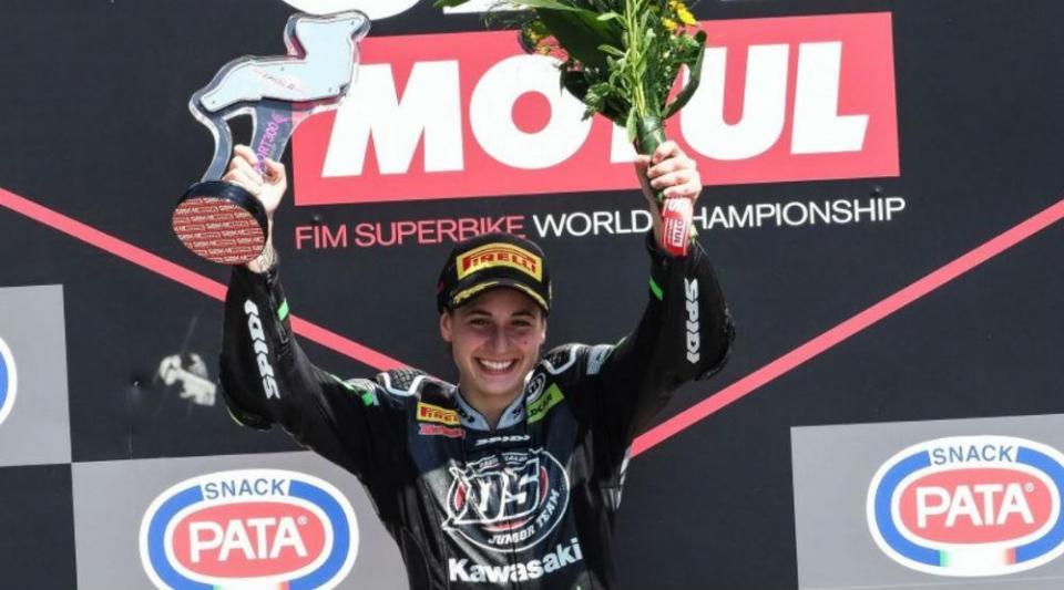 Ana Carrasco faz história no Mundial de Motociclismo