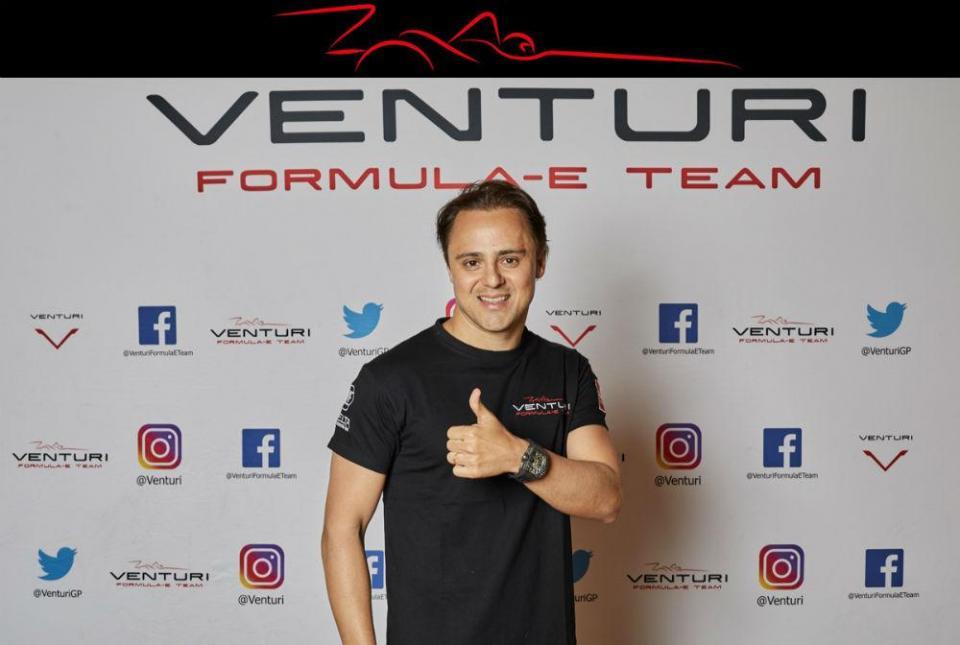 Fórmula E: Felipe Massa assina contrato com a Venturi