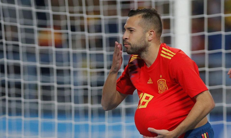 Jordi Alba: «Irão vai colocar Portugal em dificuldades»
