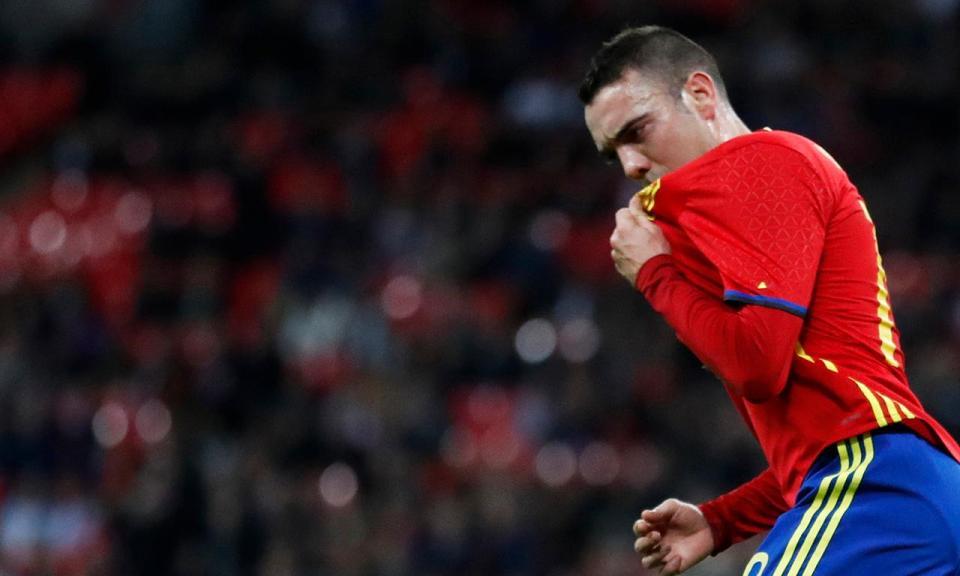 Espanha: Iago Aspas substitui Diego Costa na seleção
