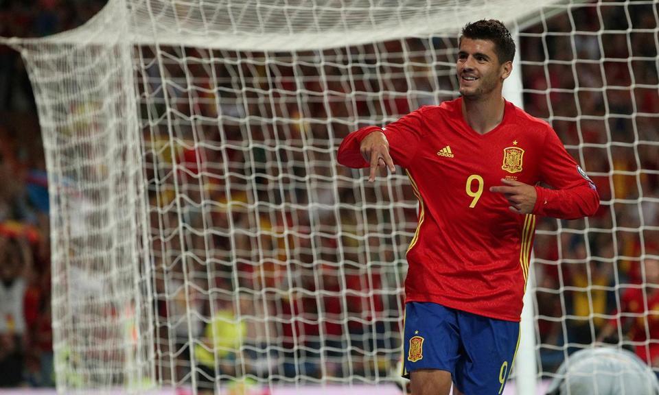 FOTO: ainda há dúvidas que Morata vai ser reforço do Atl. Madrid?