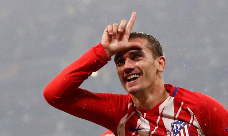 Griezmann eleito o melhor jogador da Liga Europa