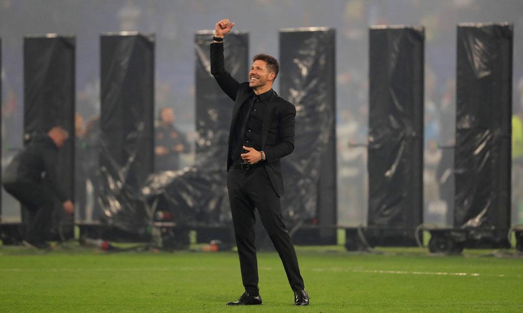 Diego Simeone: «Foi triste viver a final na bancada»