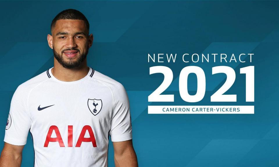 OFICIAL: Tottenham renova com Carter-Vickers