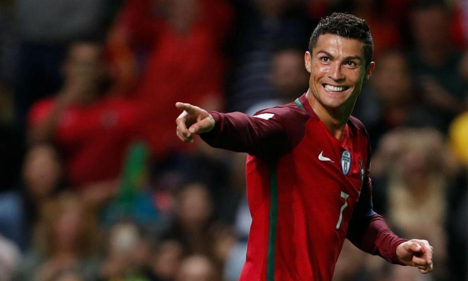 Ronaldo chegou ao jogo 150 pela seleção nacional