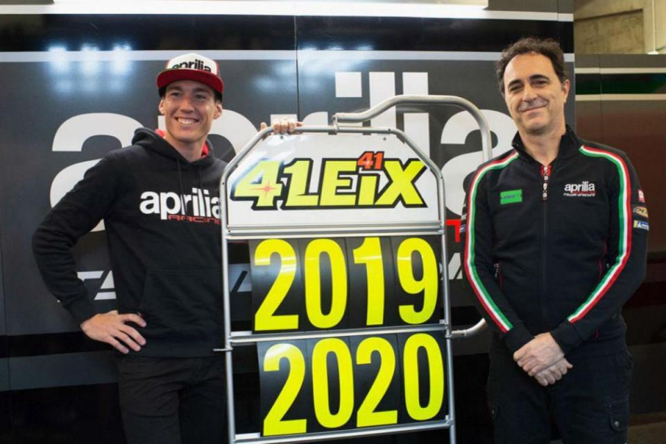 MotoGP: Aleix Espargaró renova com a Aprilia até 2020