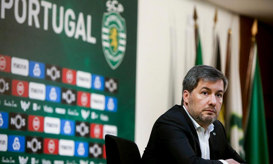 Sporting: Comissão fiscalizadora anuncia suspensão de Bruno de Carvalho
