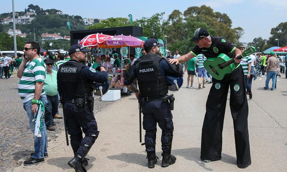 Taça: cinco detidos e confrontos entre elementos de claque do Sporting