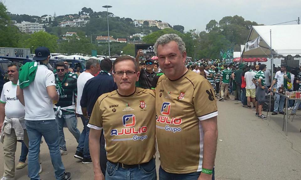 Presidente do Caldas no Jamor entre a «frustração» e o «orgulho»