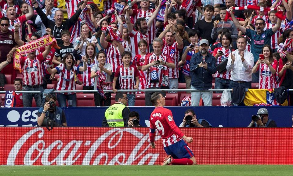 Fernando Torres bisa na despedida do Atlético Madrid