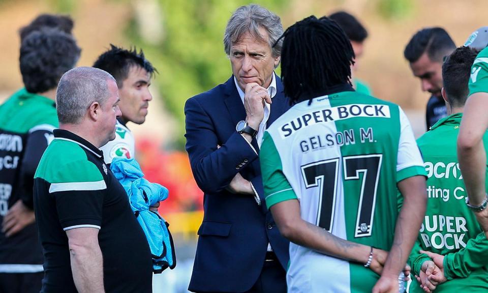 Sporting: Bruno de Carvalho informou Jesus que não ficava, diz Patrício