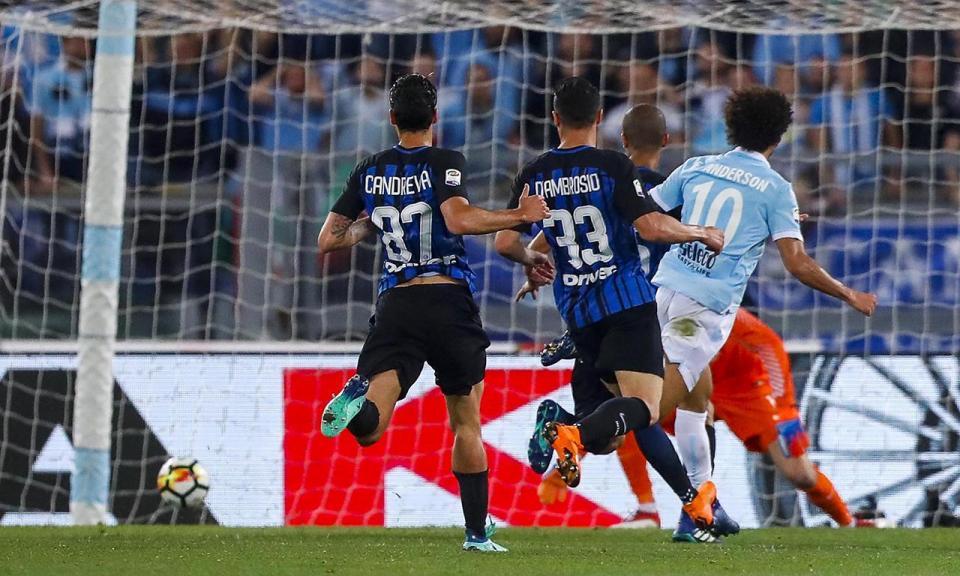 Inter garante Liga dos Campeões e atira a Lazio, em pleno Olímpico, para a Liga Europa