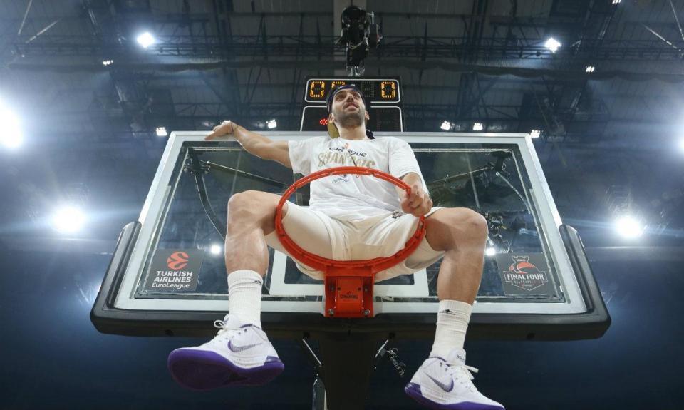 Real Madrid campeão da Europa de basquetebol pela 10ª vez