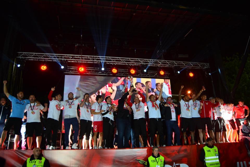 VÍDEO: a efusiva receção ao vencedor da Taça na Vila das Aves