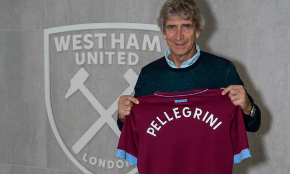 OFICIAL: Pellegrini é o novo treinador do West Ham