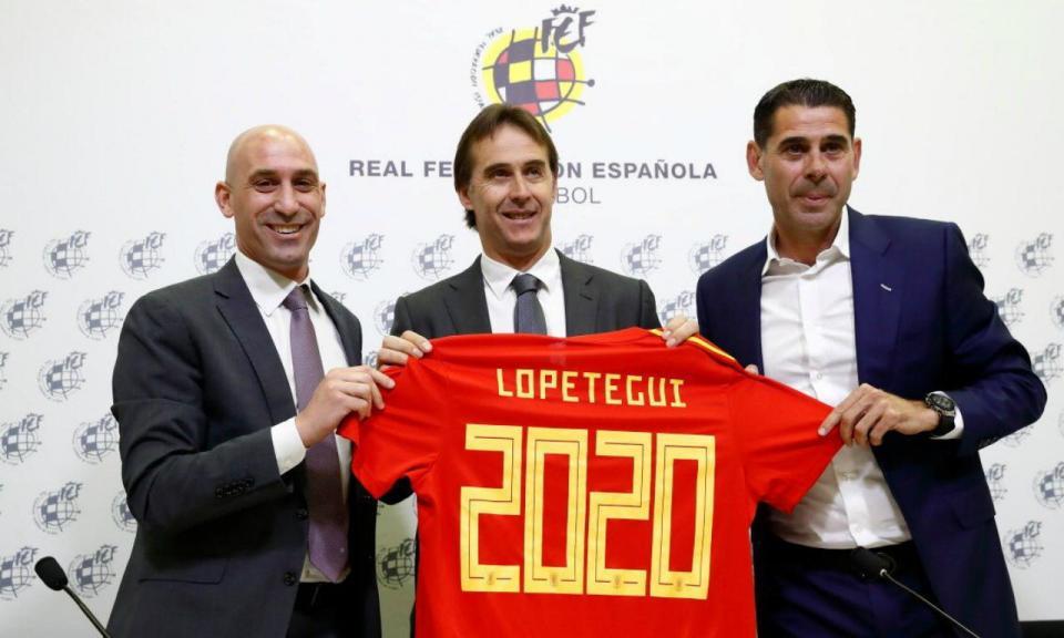Espanha renova com Lopetegui até 2020