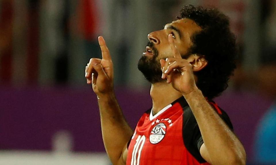Mundial 2018: Salah ausente do primeiro treino do Egito na Rússia