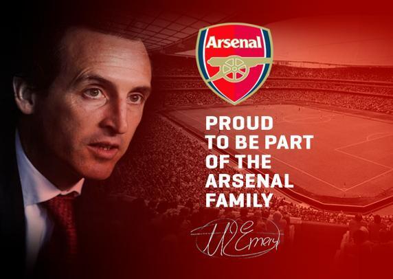 Emery no Arsenal: «Não prometo vitórias, apenas trabalho»