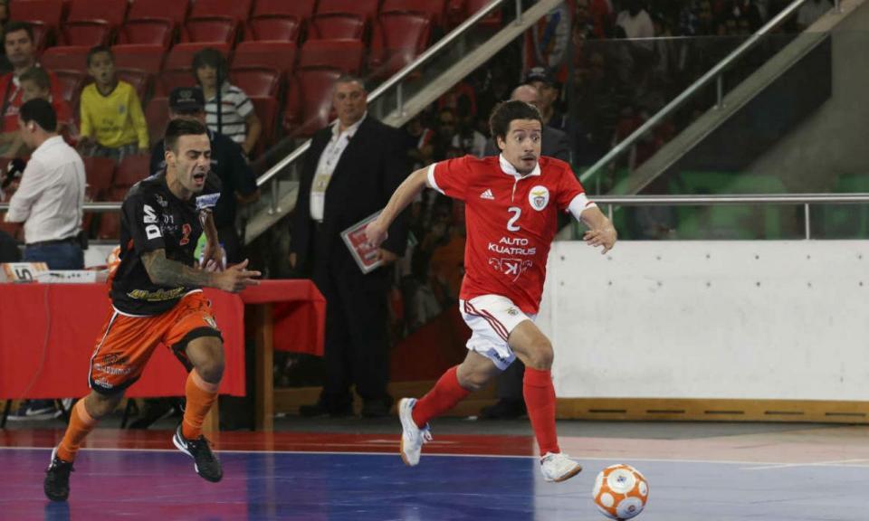 Futsal: Chaguinha falha o resto da temporada do Benfica