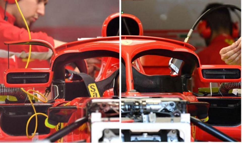 FI: descubra as diferenças dos retrovisores da Ferrari