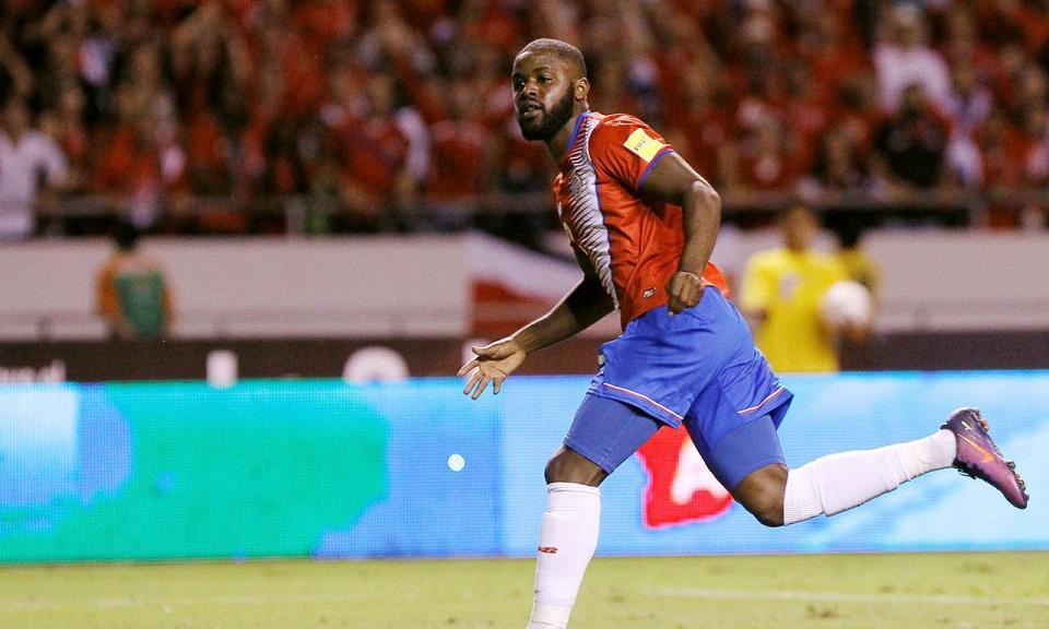 Costa Rica, sem Bryan Ruiz, vence com golo de ex-Sporting