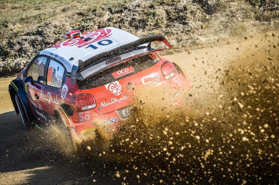 """WRC: Citroën dispensa Meeke """"devido aos despistes"""""""