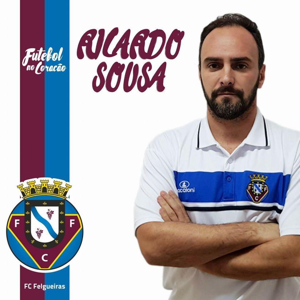 OFICIAL: Ricardo Sousa continua como treinador do Felgueiras