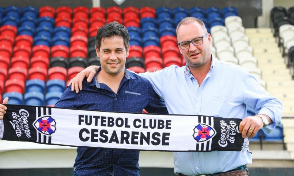 Sobrinho de Sérgio Conceição é o novo treinador do Cesarense
