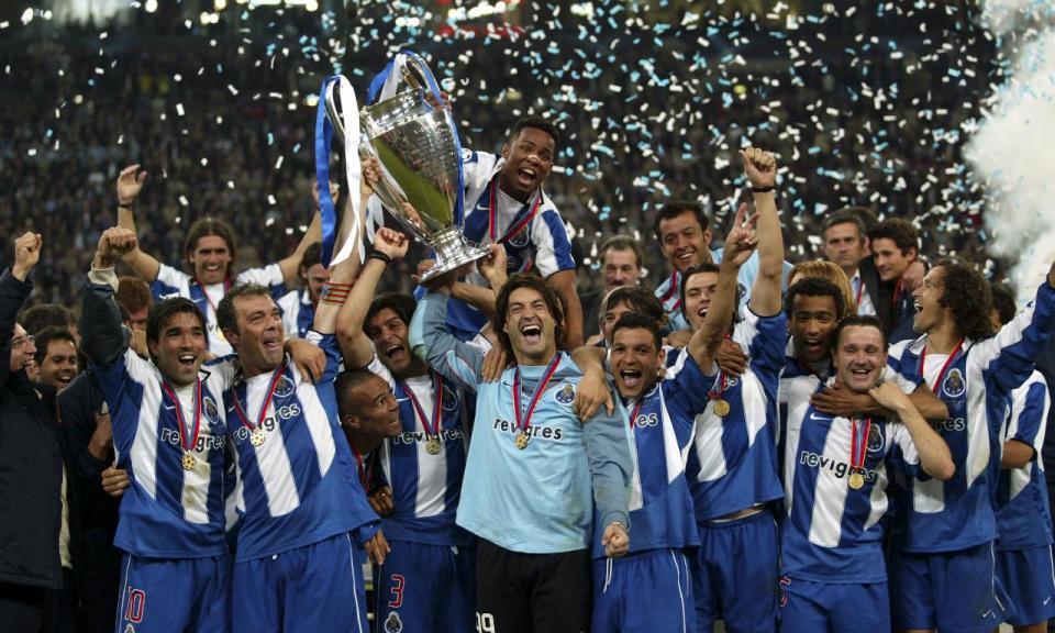 Foi há 14 anos que o FC Porto conquistou a Europa pela segunda vez