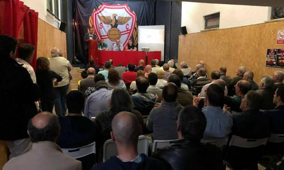 Sócios aprovam criação de SAD no Salgueiros