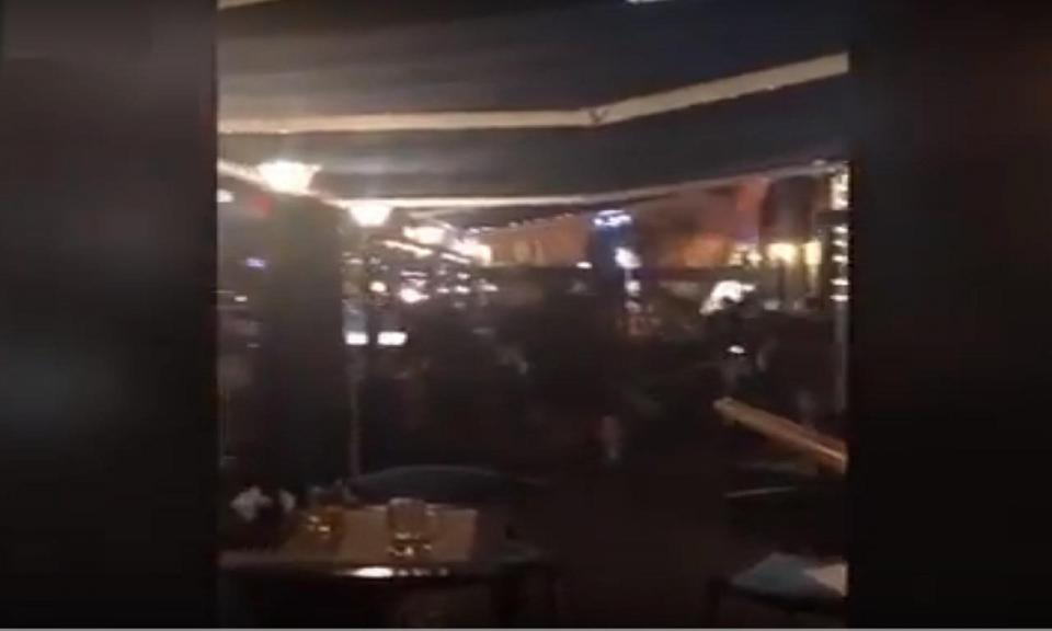VÍDEO: adeptos do Liverpool agredidos em Kiev