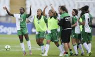 Sporting voltou a vencer a Taça de Portugal em futebol feminino (JOSÉ SENA GOULÃO/LUSA)