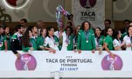 Sporting voltou a vencer a Taça de Portugal no futebol feminino
