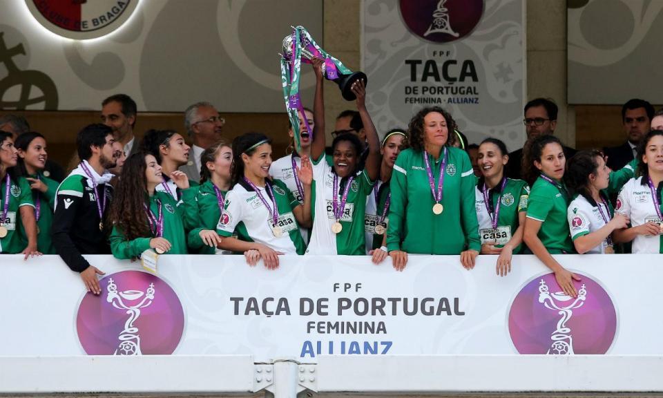 Taça de Portugal: Sporting volta a Vildemoinhos, agora no feminino