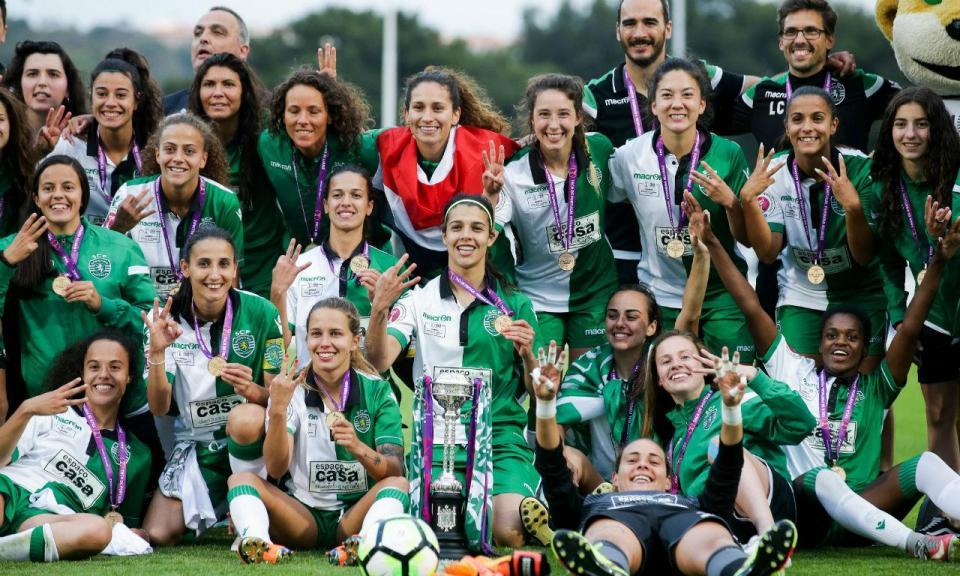 6b3f74b496 Sporting  equipa feminina começa Champions na terça-feira ...