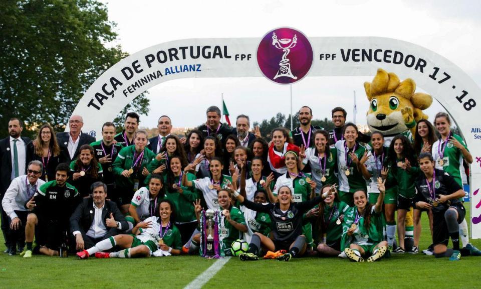 Supertaça feminina entre Sporting e Sp. Braga a 9 de setembro