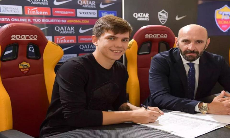 OFICIAL: Roma contrata médio internacional croata