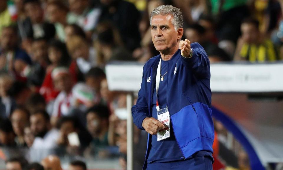 Irão de Queiroz tem único castigado na jornada de estreia do Mundial