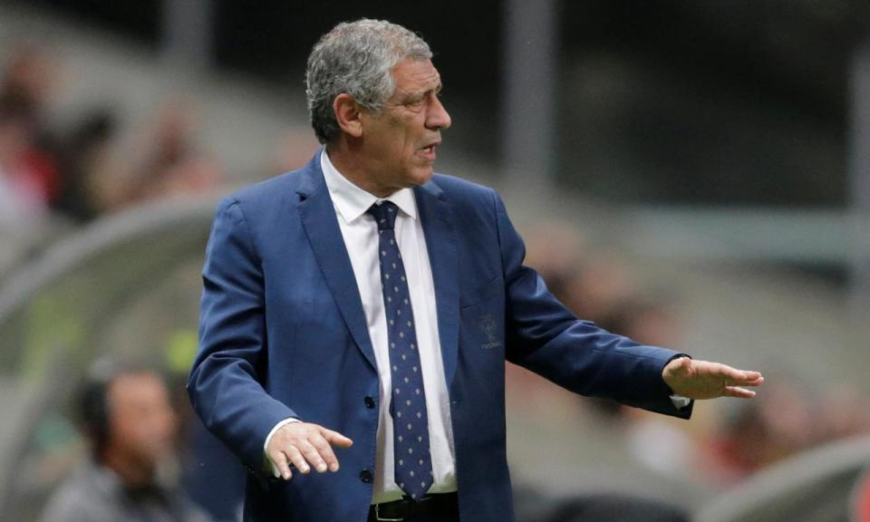 Fernando Santos: «Equipa sofreu golos que normalmente não sofre»