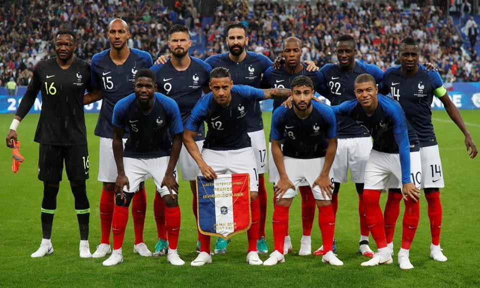 França bate Itália na preparação para o Mundial 2018