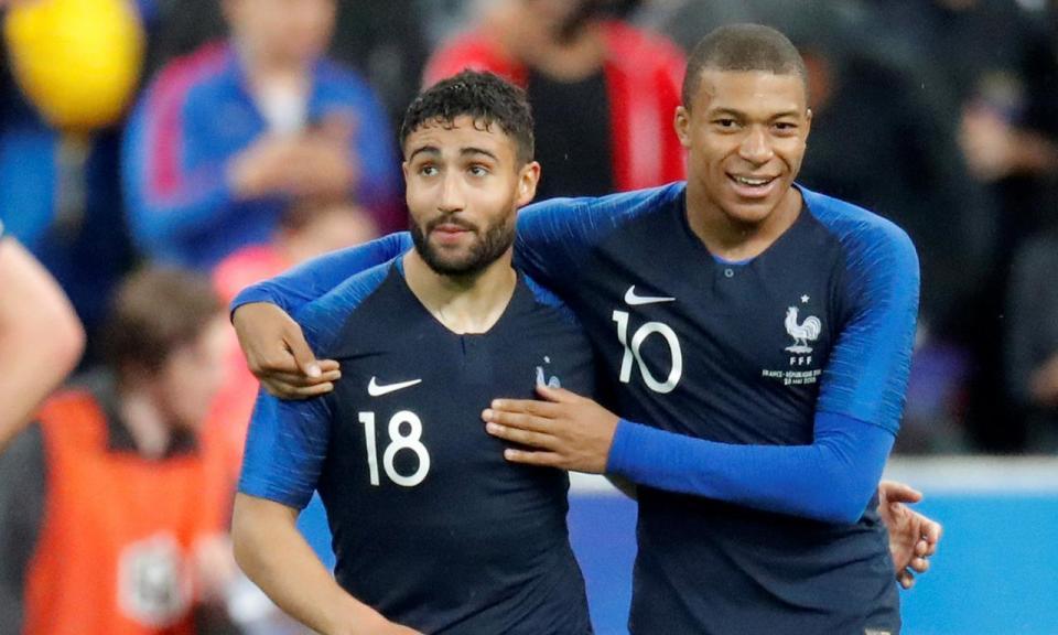 França empata antes da estreia no Mundial