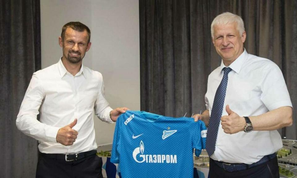 Rússia: Zenit escolhe antigo médio do clube para treinador