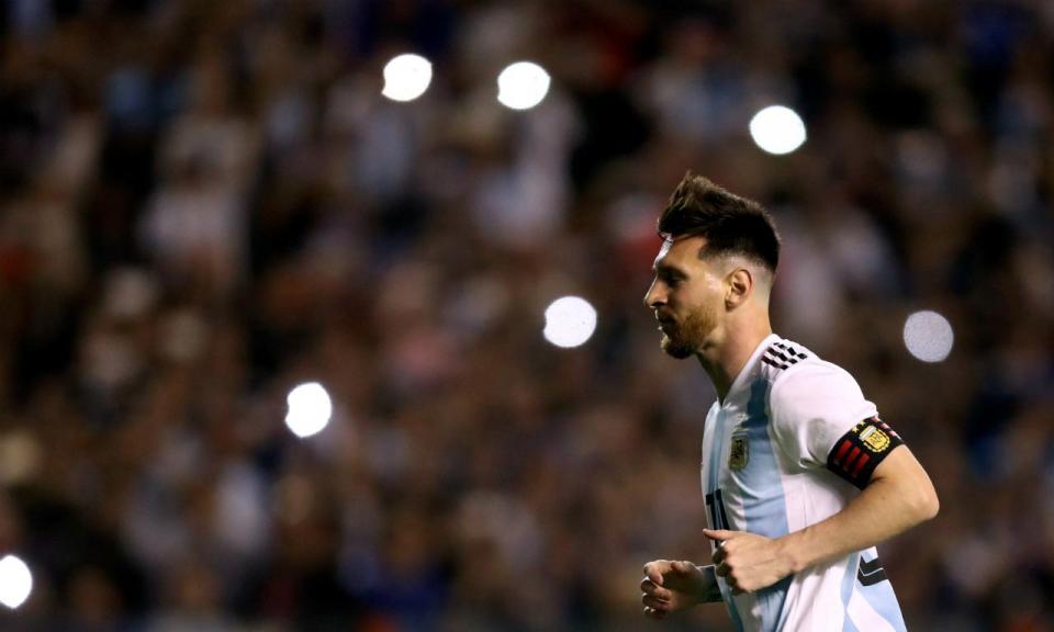 A claque especial que «empurrou» Messi para o hat-trick
