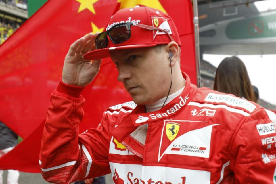 Kimi Räikkönen pode testar o Toyota Yaris WRC