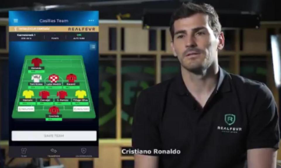 VÍDEO: de Ronaldo a Courtois, o 11 de Casillas para o Mundial